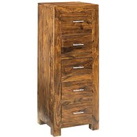 Wooden Chest Of 5 Drawers LE-500034
