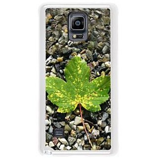 Fuson Designer Phone Back Case Cover Samsung Galaxy Note 4 ( A Maple Leaf )