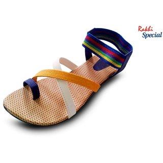 Kite Multi-strip Casual Footwear - Blue/Multi