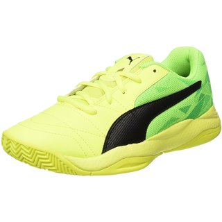 d84317601cc Buy Puma Men S Veloz Indoor III Yellow Synthetic Badminton Shoes ...