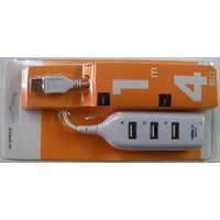 4 Port Hi Speed  USB 2.0 Smart USB Hub For Laptops & Pc's [CLONE]