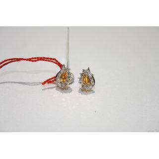 Gold Diamond Jewellery Earring