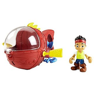 Fisher-Price Disney Jake And The Never Land Pirates Jakes Never Sea Mini-Sub