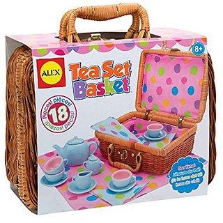 Buy Alex Toys Tea Set Basket Online Get 0 Off