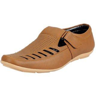 858670baaac0 Buy Fausto Tan Men S Sandals Online - Get 4% Off