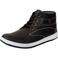 Fausto Men Brown Lace-Up Casual Shoes - 114770787