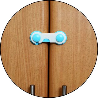 Safe O Kid Easy To Use Durable Colorful Child Proof Cabinet Lock
