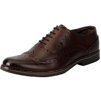 Fausto Men Brown Lace-Up Formal Shoes - 114772521