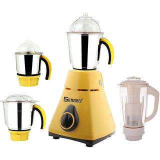 Sunmeet 750 Watts MG16-432 4 Jars Mixer Grinder Direct Factory Outlet