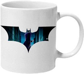 Mooch Wale Dark Knight Joker Inside Bat Ceramic Mug