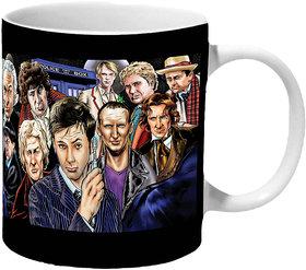 Mooch Wale Doctor Who Character Artwork Ceramic Mug