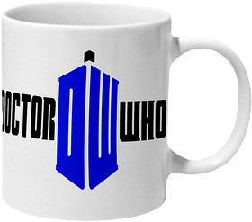 Mooch Wale Doctor Who Dw Ceramic Mug