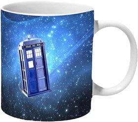 Mooch Wale Doctor Who Tardis Space Travel Ceramic Mug
