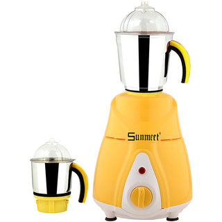 Sunmeet 600 Watts Mixer Juicer Grinder with 2 Jar (1 Large Jar and 1 Chuntey Jar) Direct Factory Outlet Save On Retailer margin.