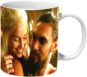 Mooch Wale Game Of Thrones Drogo And Daenerys In Love Ceramic Mug