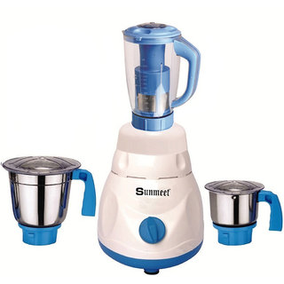 Sunmeet 600 Watts Mixer Juicer Grinder with 3 Jar (1 Juicer Jar1 Large Jar and 1 Chuntey Jar) Direct Factory Outlet Save On Retailer margin.