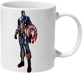 Mooch Wale Captain America I'M Loyal To Nothing General Except The Dream Ceramic Mug