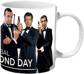 Mooch Wale Global James Bond Day Ceramic Mug