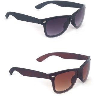 8765d517437 Buy Fashno Black UV Protection Wayfarer Men Sunglasses Online - Get ...