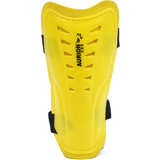 Football Shin Pad Aurion Yellow Double Strap