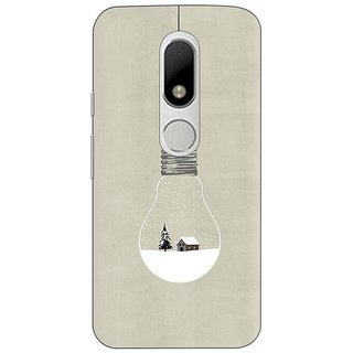 Moto M Printed Cover By CareFone