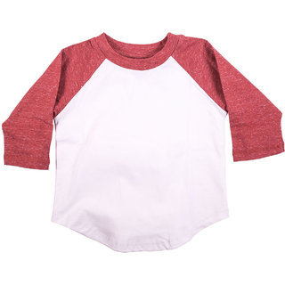 Melange T-Shirt in Organic Cotton from HUGABUG