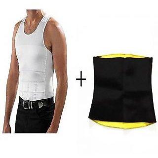 IBS Slim N Lift  Western Wear Solid Pattern Pack of 2 Comfortable smart fabrics technology Men Shapewear