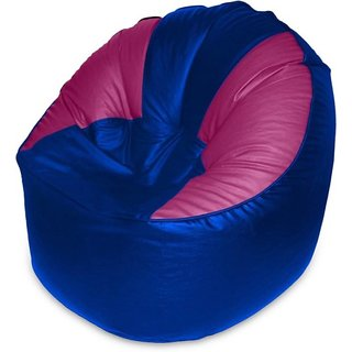 Akhilesh Bean Bags Chair Cover Only Blue Pink