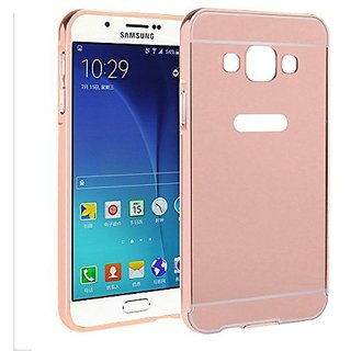 LUXURY PREMIUM QUALITY MIRROR BACK COVER FOR SAMSUNG GALAXY ON5 ROSEGOLD