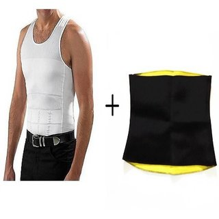 IBS Slim N Lift  Western Wear Solid Pattern Pack of 2 and Comfortable smart fabrics technology Men Shapewear