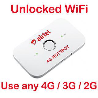 Buy Unlock airtel huawei e5573 4g wifi hotspot Online