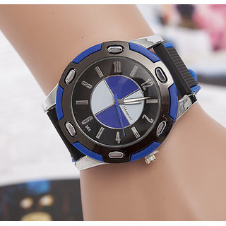 Blue bmw Sport Analoge Watch For Men And Kids With Best Discount