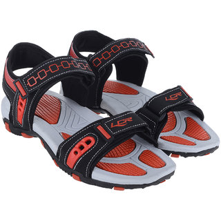 Lancer Men's Multicolor Velcro Sandals