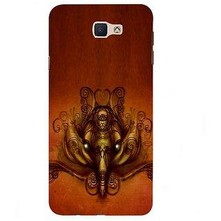 Fuson Designer Phone Back Case Cover Samsung Galaxy J7 Prime (2016) ( Sketch Of Lord Ganesha )