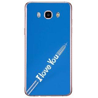 Fuson Designer Phone Back Case Cover Samsung Galaxy J7 (6) 2016 ( Tracing Back My Love )