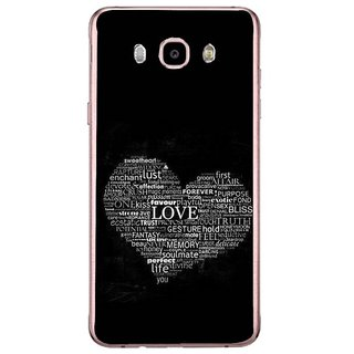 Fuson Designer Phone Back Case Cover Samsung Galaxy J7 (6) 2016 ( Giving Meaning To Life )