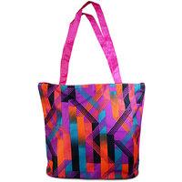 Adbeni Multi Colored Tote Bag-CB43
