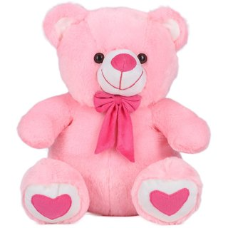Teddy Bear Soft Toy Gifts, Pink (15-inch)