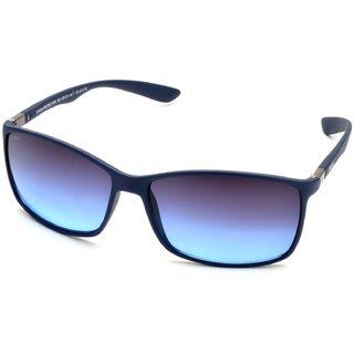MTV Roadies Blue UV Protection Unisex Rectangular Sunglass