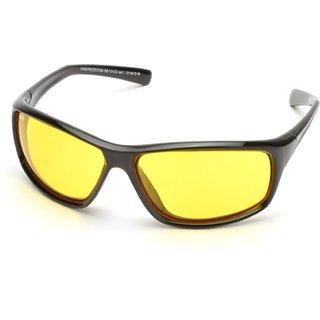 MTV Roadies Yellow UV Protection Unisex Sports Sunglass