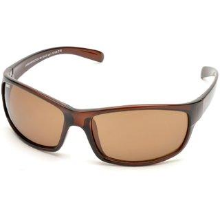 MTV Roadies Brown UV Protection Unisex Sports Sunglass