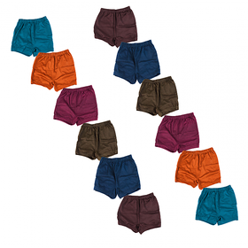 YASIQ SHORTS PACK OF 12