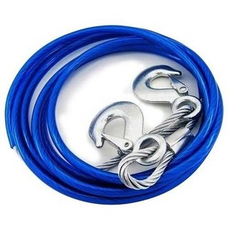 love4ride Car Auto Steel Towing Cable Rope  Heavy Duty FOR ALL CARS