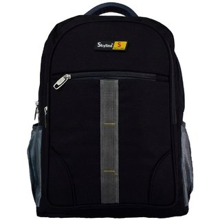 Skyline Laptop Backpack-Office Bag/Casual Unisex Laptop Bag-With Warranty-814(Black)