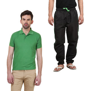 Polo T-Shirts Combo With Pyjamas By X-CROSS