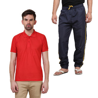 Polo T-Shirts Combo With Pyjamas By X-CROSS