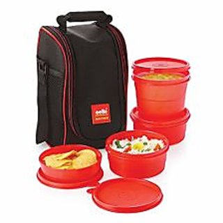 Cello Max Fresh Super Lunch -4 -red