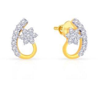 65becaa213632 Buy Mine Diamond Earring AJEEAR3463 Online   ₹23046 from ShopClues