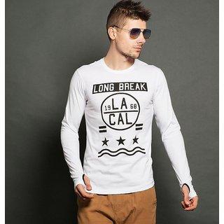 Style Shell Men's Hooded Full Sleeve Cotton T-Shirt