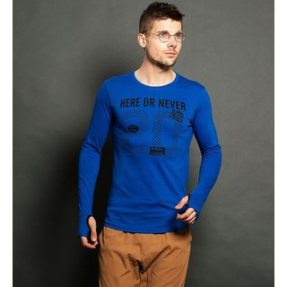 Blue T-Shirt for Men